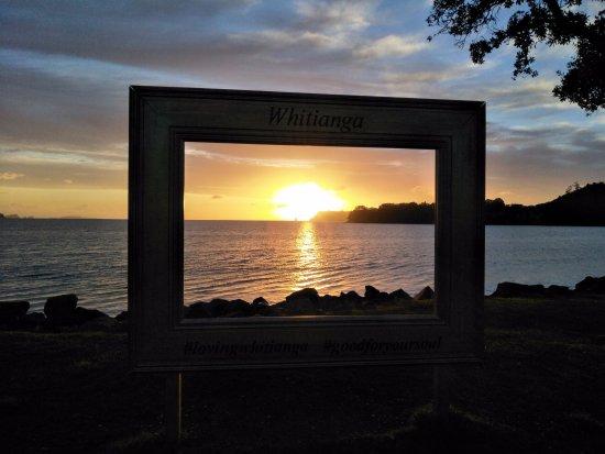 Beachside Resort Whitianga: 海滩的早晨