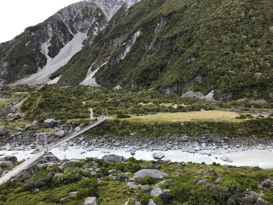 Aoraki Mount Cook National Park (Te Wahipounamu), Νέα Ζηλανδία: Mt Cook Hoover vally hiking