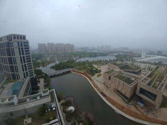 Changde, China: 房间看到的风景