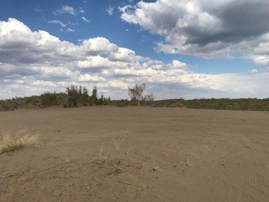 Karamay, China: 驼铃梦坡沙漠公园
