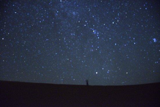 Merzouga Desierto: 梅祖卡(撒哈拉)沙漠的璀璨星空:银河、流星......(拍摄技术有限,远比你能想像的更美)