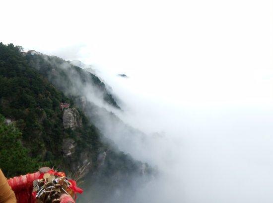 Jiujiang, China: 庐山瀑布群