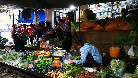 Samut Songkhram, Thailandia: 市场摊贩