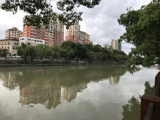 Yuyao, Κίνα: 余姚黄鱼面 佛教协会 姚江