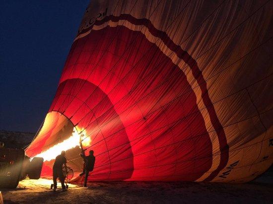 Royal Balloon: 刚刚到起飞点,我们的球,最开始的喷火
