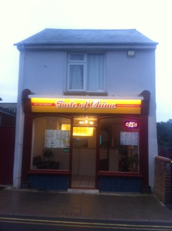 Leiston, UK: Taste of china