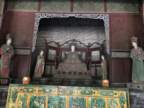 """Ταϊγιουάν, Κίνα: 晋祠里最有名的""""三绝"""""""
