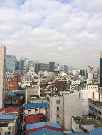 Hotel PJ Myeongdong: pj标间楼下