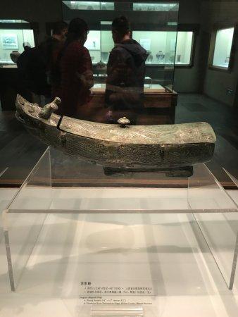 Taiyuan, China: 展馆内的文物美得一塌糊涂