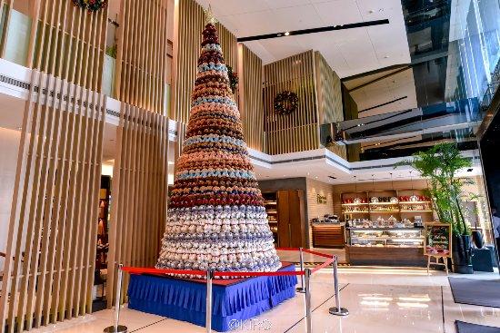 Pan Pacific Xiamen: 酒店大堂圣诞树好喜欢