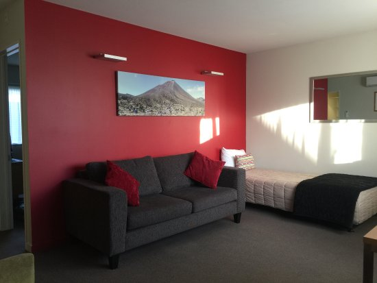 Park View Motor Lodge: 客厅