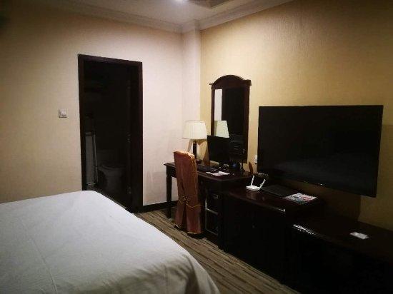 Kaiping, China: 卫生间在房间后部