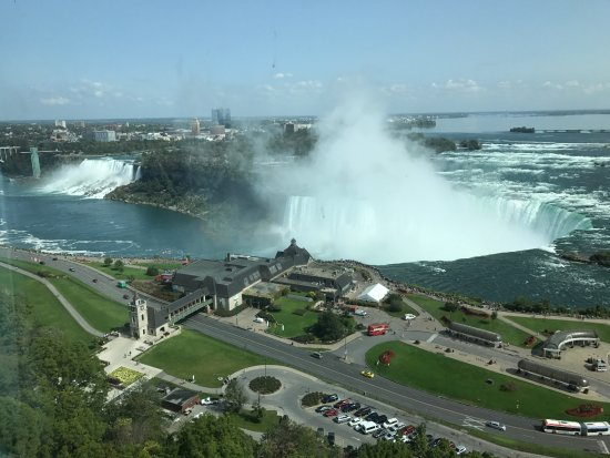 Niagara Falls Marriott Fallsview Hotel & Spa: 房间窗外景色