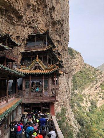 Hengshan Hanging Temple (Xuankong si) : photo6.jpg