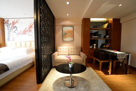 Huainan, Cina: 豪华大床房