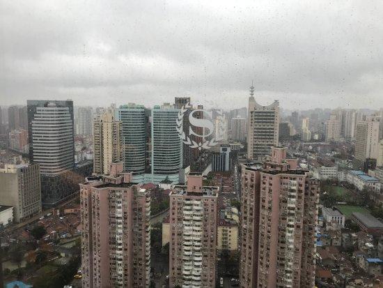 View from 30/F of Sheraton Shanghai HONGKOU HOTEL