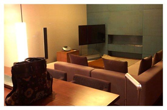 Park Hyatt Seoul: living room