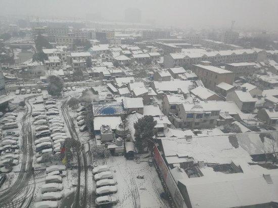 Guangde County, China: 第一次来,下大雪。