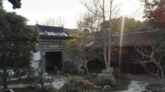 Square Pagoda: 兰瑞亭后门