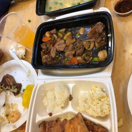 Hawthorne, CA: 吃过的最好吃的饭菜了,老板也很客气,能讲中文,