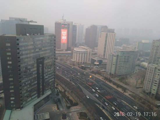 The Westin Beijing Chaoyang: 窗外