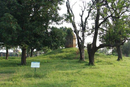 Kudan Stupa: 远处的佛塔,原是纪念佛陀儿子罗睺罗的出家处,经由千百年来的变迁,听说现在已变为供奉印度教的神灵了。
