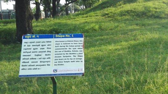 Kudan Stupa: 纪念佛陀儿子罗睺罗的出家处