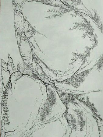 Haishang Yuntaishan Scenic Spot: 这是几十年前的桃花涧原生态,现在人为的东西太多,好多天然的东西都被破坏了,但是桃花涧有号称东方天书的摩崖石刻,石器时代的遗址,值得一看