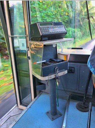 Cook Islands bus
