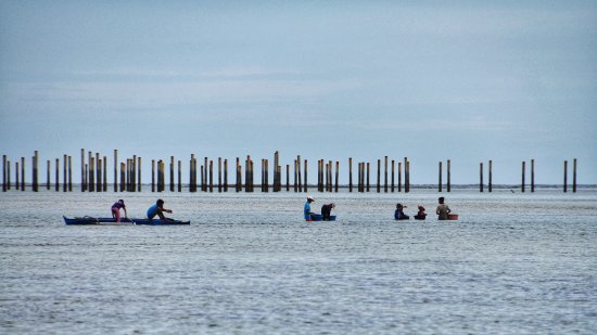 Sipadan Mabul Resort: Bajau fishermen under sun