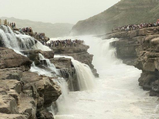 Ji County, China: 壶口瀑布