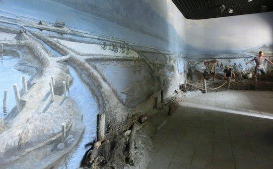 Chishen Temple: 盐池展览