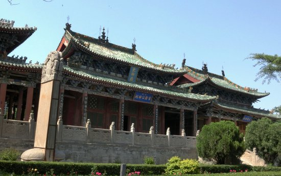 Chishen Temple: 盐神庙主殿