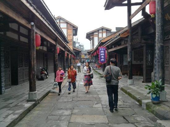 Luocheng Ancient Town : 罗城古镇
