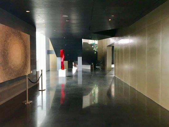 设计感取胜,算是国内最美的艾美酒店