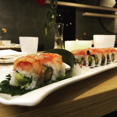 "G sushi - Oriental Pleasure: Il nostro ""Crudo Roll"""