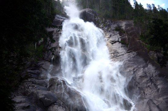 Shannon Falls Provincial Park: 瀑布即景