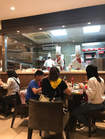 Jiumaojiu Shanxi Shougong Noodle (Tianhe South): 九毛九,玩转山西花样手工面......