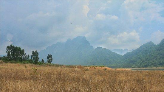 Dongfang, China: 东方市俄贤岭风光