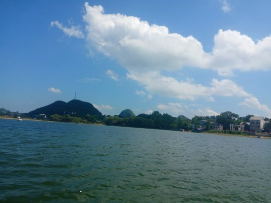 Zhenfeng County, الصين: 三岔河景区