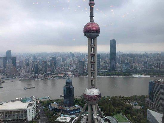 意味轩 (上海浦东丽思卡尔顿酒店): 餐厅景色