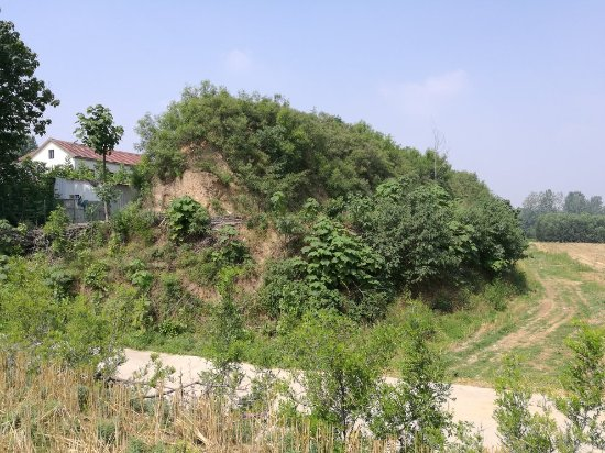 Xinmi, Cina: 古城寨城址