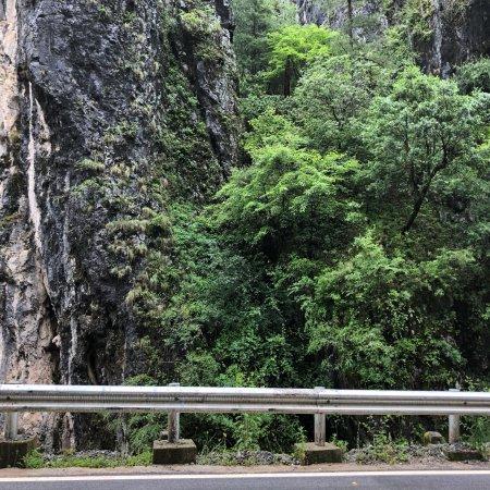 Yanyuan County, Κίνα: 从泸沽湖前往前望乡的路上