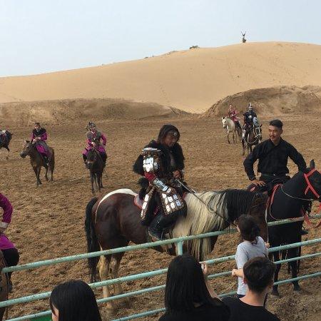 内蒙古自治区托克托县: 马术实景剧