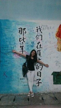Xiamen University: 昏暗隧道,有了这些涂鸦也就没那么枯燥了