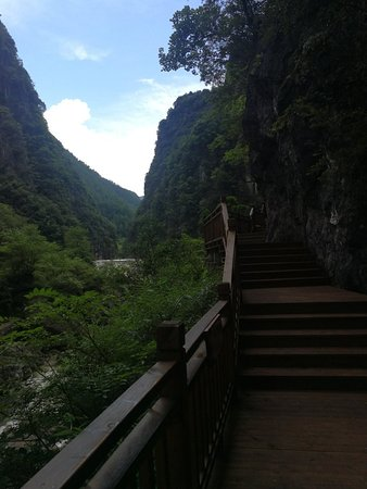 Nanjiang County, China: 小巫峡