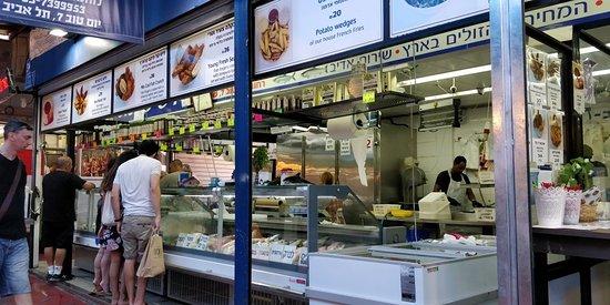 Distrito de Tel Aviv, Israel: Fish & Chips