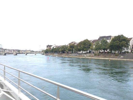 Rheinfähre Aufnahme