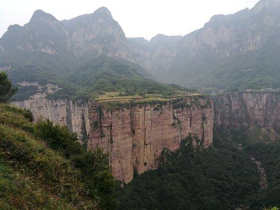 Lingchuan County, จีน: 雨中的锡崖沟