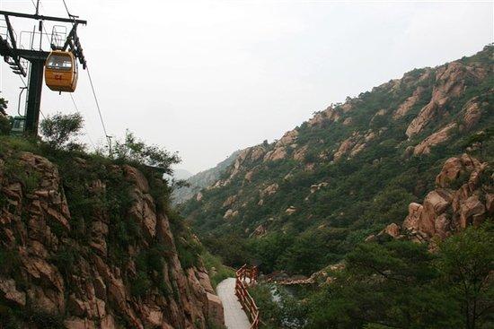 Junan County, China: 天马岛缆车